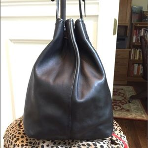 Coach Bags - Vintage Coach drawstring bucket sling back purse